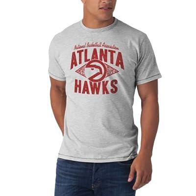 NBA Atlanta Hawks Marksmen Tee, X-Large, Fog