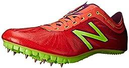 New Balance Women\'s SD200V1 Track Spike, Orange/Purple, 6 B US