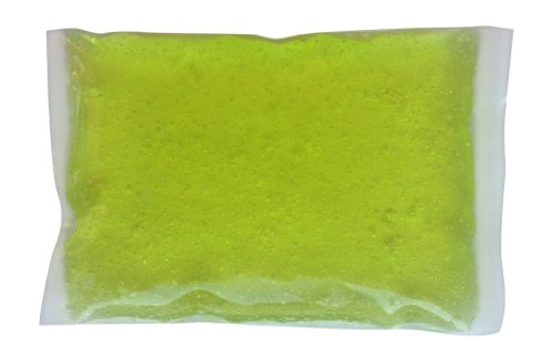 Naturally Complete Lunch Box Ice Pack (Lime Green) 4 X 6 - Lunch Box Ice Packs Are Lightweight And Handy - Made In Usa. Lunch Box Ice Packs Are Made With A Strong 6 Mil., Plastic Bag, And Then Filled With A Non-Toxic State Of The Art Refrigerant Gel That