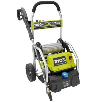 Ryobi ZRRY141900 2,000 PSI 1.2 GPM Electric Pressure Washer (Certified Refurbished)