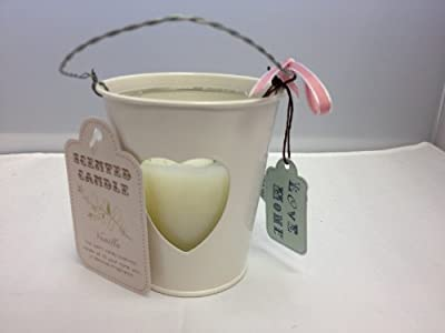 Love Home Vanilla Candle Shabby Chic
