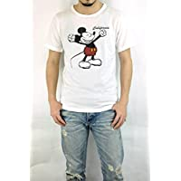 ジーアールエヌ(grn)GU421081R DISNEY ミッキーマウスプリントTEE ディズニー S/STEE 半袖Tシャツ