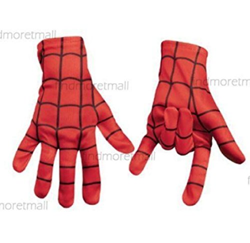 Adult Kids Cosplay Spider-Man Mask Glove Fancy Dress Costume Party Accessory Toy (Edward Scissorhands Kid Costume)