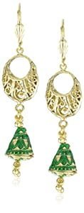 "Taara ""Peacock Collection"" Indian Belle Earrings"