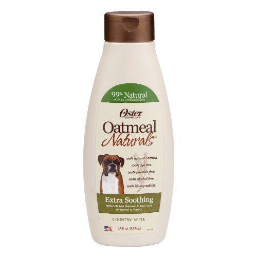 Oster 078590-115 Oatmeal Naturals Extra Soothing Oatmeal Shampoo, 18-Ounce