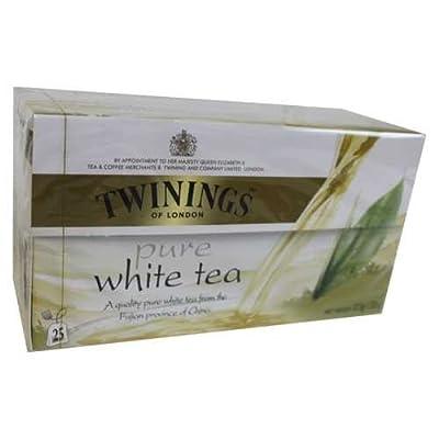 Twinings of London White Tee 25 Teebeutel von Twinings - Gewürze Shop