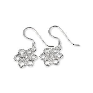 The Hobbit Jewelry Damen-Ohrringe Nenya Glam 925 Sterling Silber 19009969