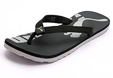 puma john black flip flops buy online at low prices in. Black Bedroom Furniture Sets. Home Design Ideas