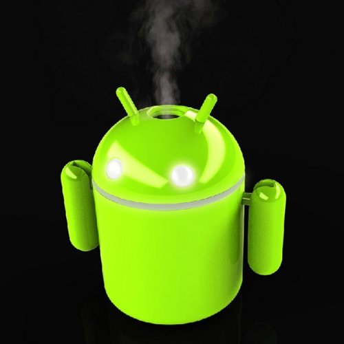 Android Robot USB Mini Humidifier For Home Office Car Use