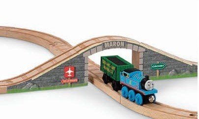 Thomas Wooden Railway - Arched Stone Bridge - Loose Brand New (Roll And Whistle Emily compare prices)