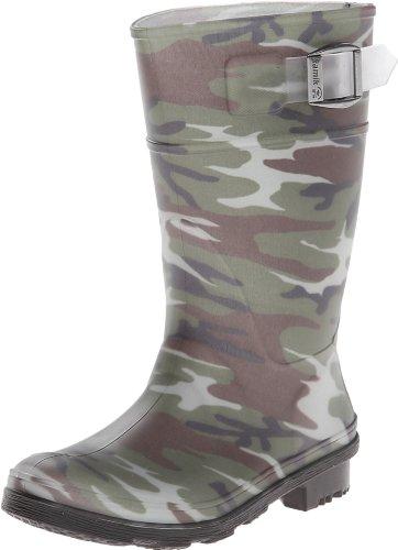 Kamik Squad Rain Boot ,Camouflage,1 M US Little Kid