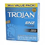 Trojan-Enz Trojan-Enz Lubricated Latex Condoms 36 ct (Quantity of 2)