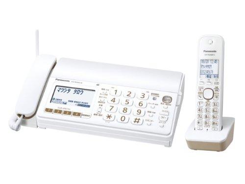 Panasonic おたっくす デジタルコードレス普通紙ファックス 子機1台付き 1.9GHz DECT準拠方式 ホワイト KX-PD303DL-W
