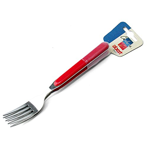 ABERT Set di 12 x2 forchette tavola pasha rosso Utensili e posate da cucina