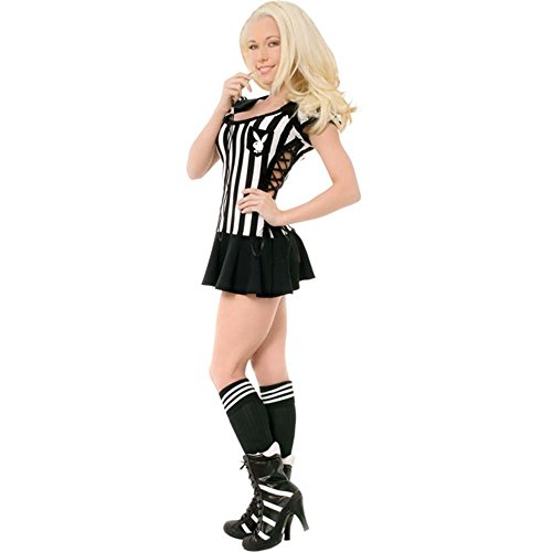 Sexy Teen Playboy Referee Halloween Costume (Size: Teen 2-4)