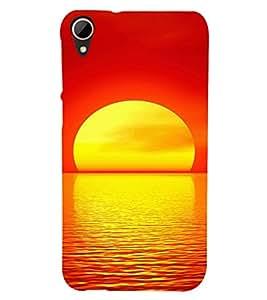 EPICCASE Sunrise Mobile Back Case Cover For HTC Desire 828 (Designer Case)