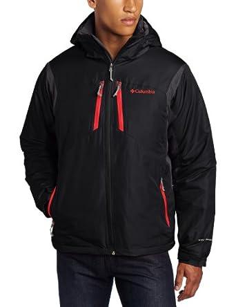Columbia Men's Antimony Iii Jacket, Black, Large