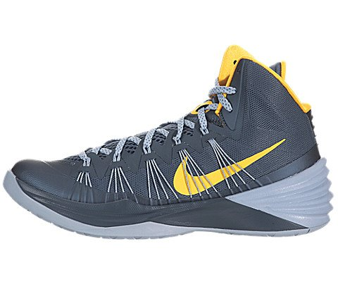 a4e473ec79eb The Features Nike Mens Hyperdunk 2013 Basketball Shoes Armory Slate Grey  Laser Orange 599537 402 Size 10 5 -
