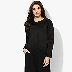 Cashewnut Women Basic Solid Jackets -XXXL