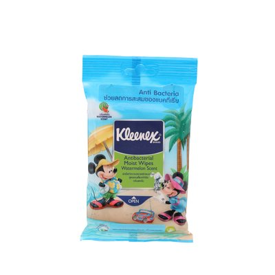 Kleenex Wet Wipes Anti-Bacterial Formula 10 Pages. front-484537