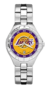 Logoart Los Angeles Lakers Pro Ii Ladies Watch by Logo Art