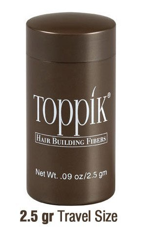 Toppik Hair Building Fibers Travel Size Small Black