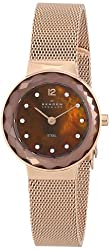 Skagen End-of-Season Analog Brown Dial Womens Watch - 456SRR1
