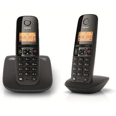 Gigaset A530 DUO Cordless Landline Phone (Black)