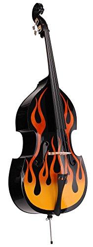 Classic Cantabile RDB-59 Flames Kontrabass 3/4 (Upright...