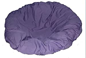 Lavender papasan cushion cover and footstool Papasan cushion cover