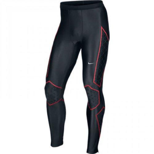 Nike NIKE Swift Men's Running Tights, Black/Red, L