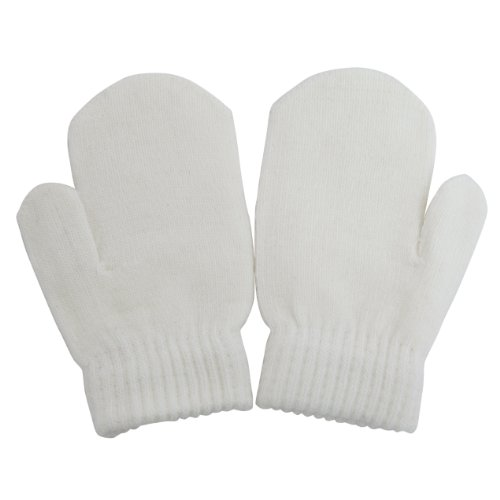 Baby Winter Mittens (One Size) (Cream)