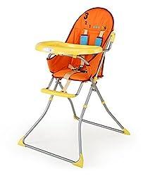 LuvLap Sunshine Baby High Chair (Yellow)