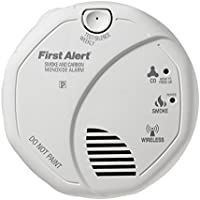 First Alert Battery-Operated Carbon Monoxide Alarm and Smoke Detector