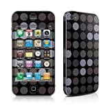 Apple iPhone4/iPhone4S用 スキンシール【Big Dots Grey】