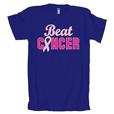 Beat Cancer Ribbon American Apparel T-Shirt