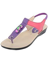 PU-MDI Girls PU Flats - B015IVB3F6