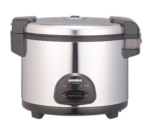 Amko Ak-50rc 30 Cups Electric Rice Cooker and Warmer (Electric Rice Cooker 28 Cup compare prices)