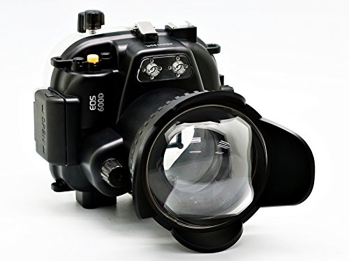 CamDive-40m130ft-Underwater-Waterproof-Housing-Case-Kit-for-EOS-600D-Rebel-T3i-Can-Be-Used-With-EF-S-18-55mm-or-EF-50mm-F14-or-Canon-EF-50mm-F18