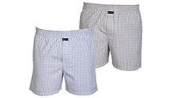 Careus Men's Cotton Boxers (Pack of 2)(1015_1017_Multi-coloured_Medium)