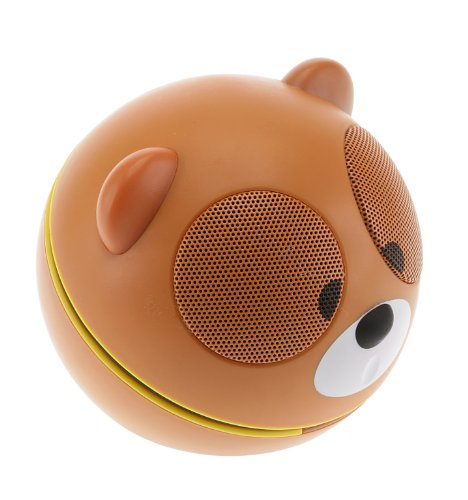 Kitsound Buddy Universal Portable Speaker with 3.5mm Jack Compatible with Smartphones