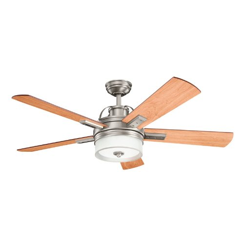 Kichler Lighting 300181AP 52-Inch Lacey Ceiling Fan, Antique Pewter