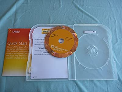 Microsoft Office Home And Student 2010 32-bit/x64 En Us Dvd Military Us - T5d-00225
