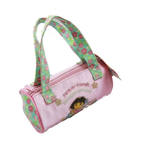 Dora the Explorer Hand Bag Purse Forever Friends Pink Flower - 1