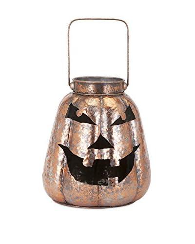 Benzara Rocco Copper Jack-O-Lantern