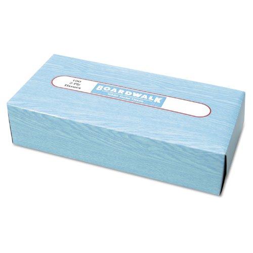 Boardwalk 6500 Facial Tissue, Flat Box, 100 Sheets/Box, 30 B