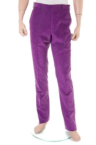 POLO by RALPH LAUREN Cord Trousers / Pants purple, Size 38''R - Polo Bleeker - SG3WH