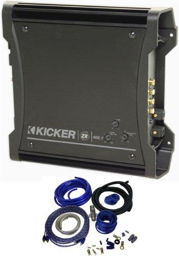Kicker discount best car mono amplifiers salebestsellers package brand new kicker 10zx4001 400 watt rms 1200 watt peak mono cheap sciox Gallery