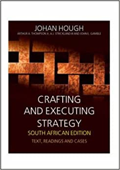 Crafting and executing strategy 9780077116934 for Crafting and executing strategy cases