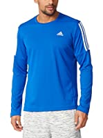 adidas Camiseta Manga Larga Oz (Azul Royal)